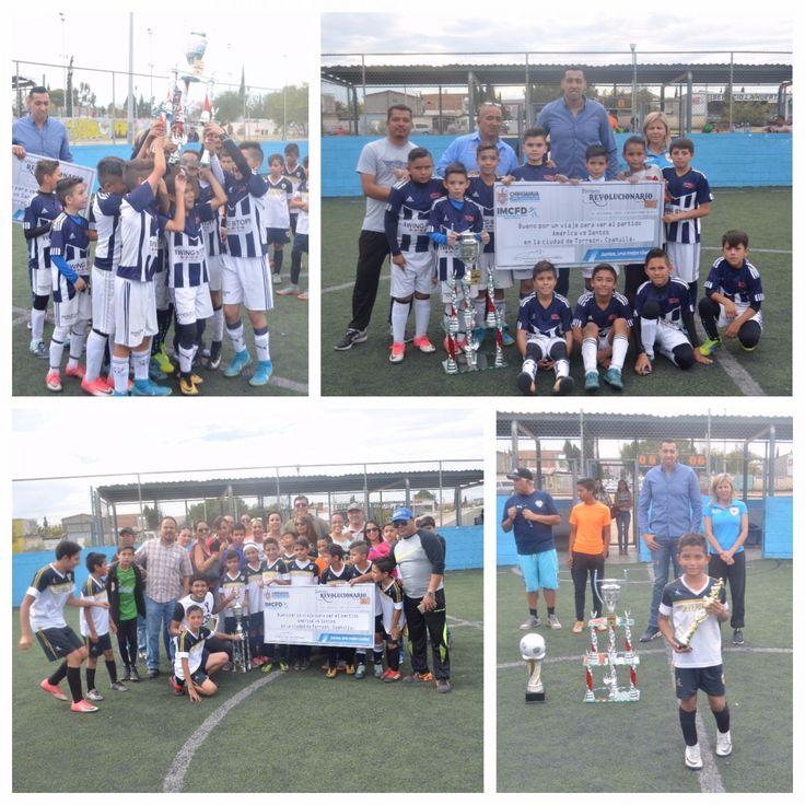 Se preparan campeones del Torneo Revolucionario para viajar a partido de Santos vs América | El Puntero