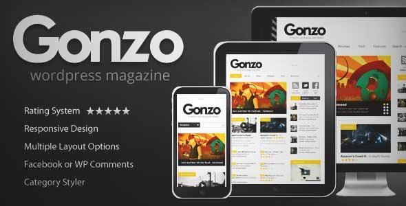 Download and review of Gonzo - Clean, Responsive WP Magazine, one of the best Themeforest Magazine & Blogs themes {Download & review at|Review and download at} {|-> }http://best-wordpress-theme.net/gonzo-clean-responsive-wp-magazine-download-review/