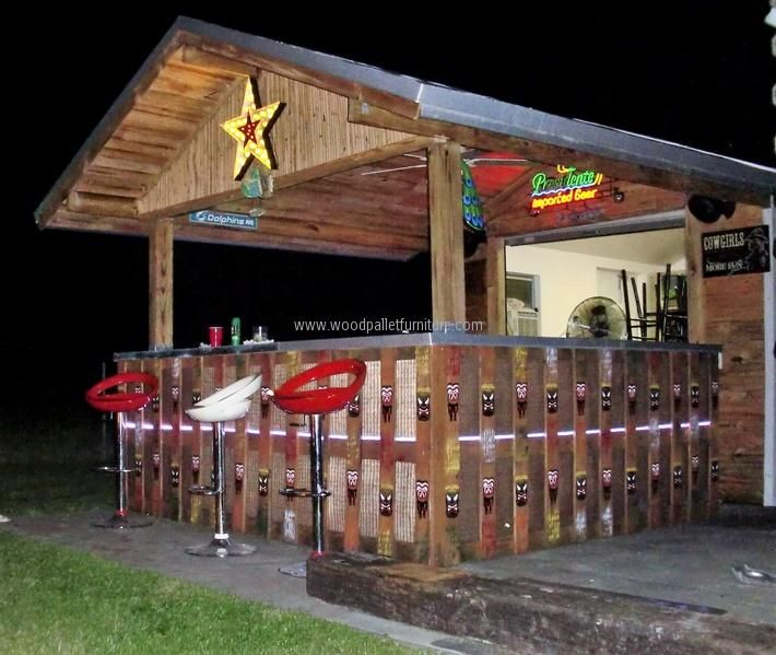 Used Patio Furniture Minneapolis: 1000+ Ideas About Pallet Bar On Pinterest