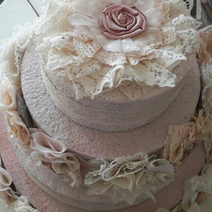 ♡♡♡Shabby decoration cake♡♡♡