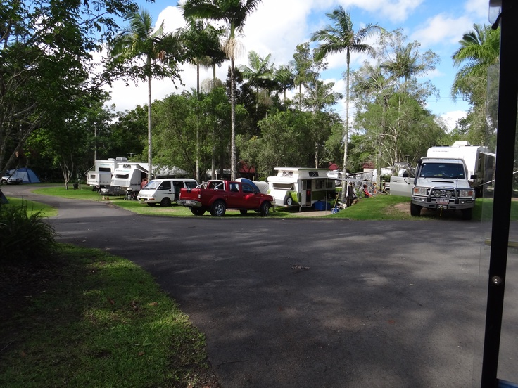 Caravans on some of our Powered Sites