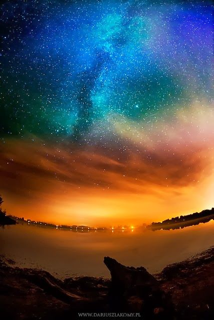 Amazing view of Milky Way. Look what we all might serif we turned the lights off.