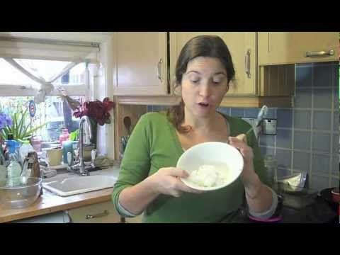 Juliette's Kitchen - Healthy Cake (no sugar, eggs or dairy)