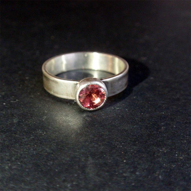 "Кольцо ""Twinkle"". Турмалин, серебро - турмалин в серебре, турмалины в серебре, розовый турмалин, турмалин"
