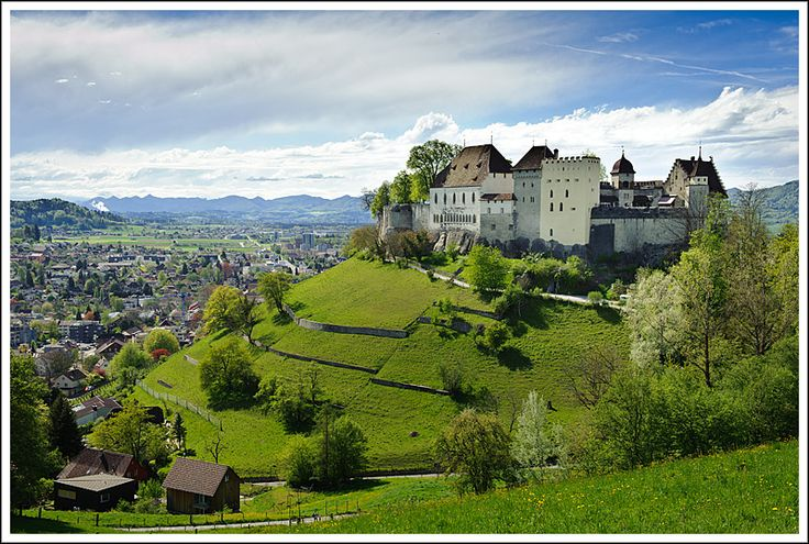 Lenzburg Castle - Lenzburg, Aargau-Switzerland by Jarek HR   (It does not hurt to think BIG)