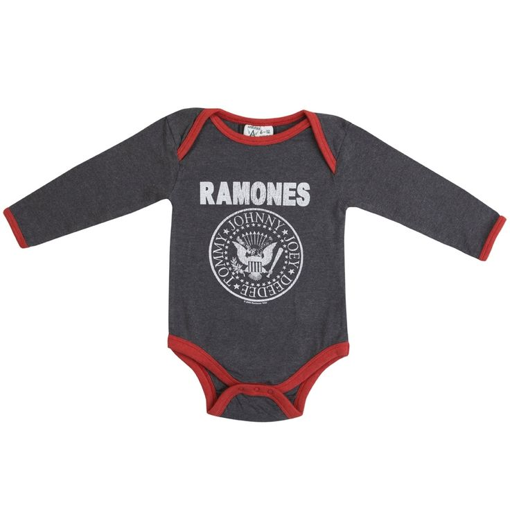 Amplified Kids Ramones Logo Babygrow - A Little Bit of Cheek
