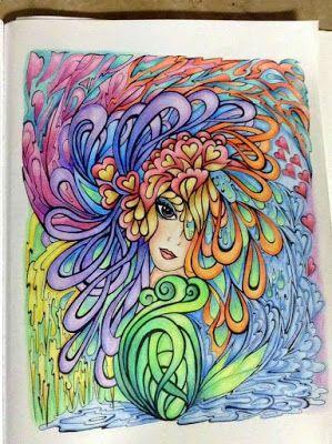 Kolorista: Creative Haven Fanciful Faces
