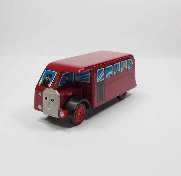 Thomas The Tank Engine - Bertie The Bus - Die-cast Model - Ertl 1988