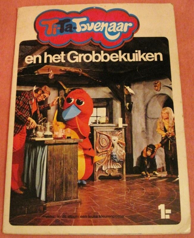 tita ti-ta tovenaar en het grobbekuiken plaatjesalbum 70s GRATIS VERZENDEN