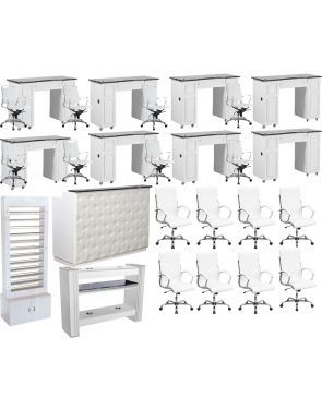 Nail Salon Furniture Package Deals Save up 40% OFF