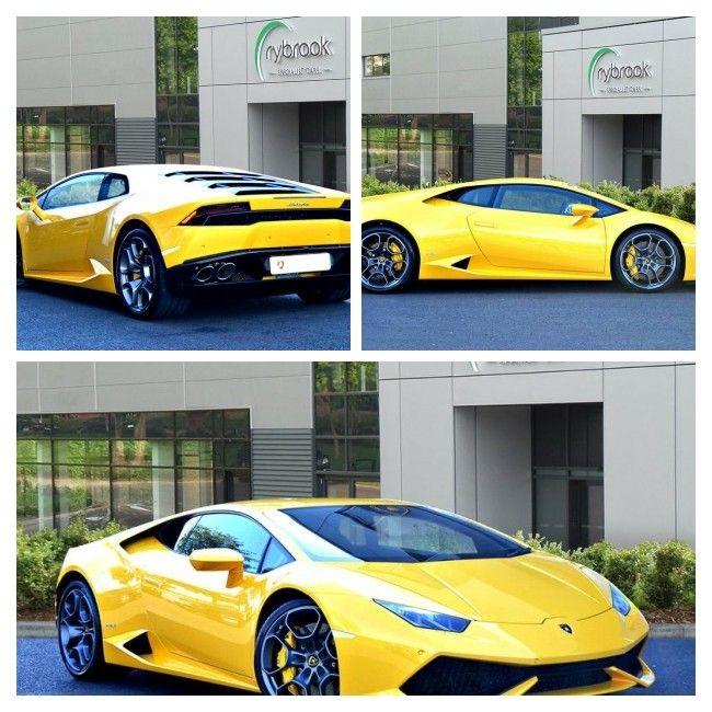 Happy Easter! Yellow 2016 Lamborghini Huracan, 3500 miles, £189,849 https://v5cars.co.uk/buy-used-car/15424/lamborghini/huracan #Lamborghini #Huracan #forsale #bristol #easter