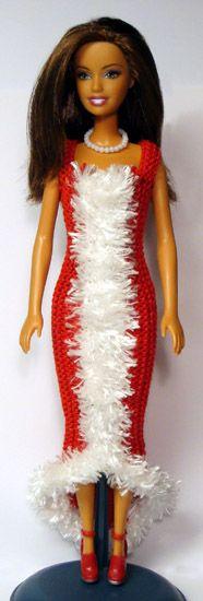 Barbie robe rouge noel 2012