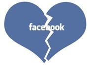 Facebook liefde bekoeld