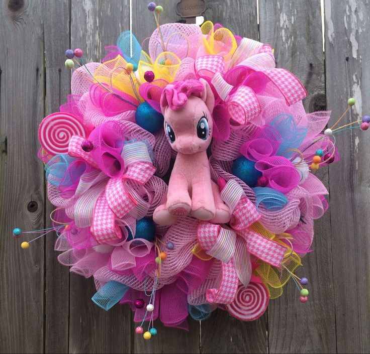Special Request My Little Pony Wreath Reserved For