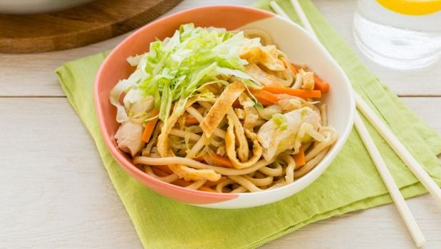 Nadia Lim's Chicken & Vegetable Mee Goreng.