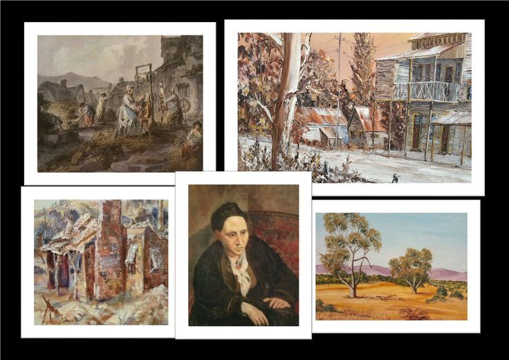 Only available at the winterFest market Sunday 7 June, Gilmore Court, Belgrave South Landscape, cityscape, Australian paintings and prints.