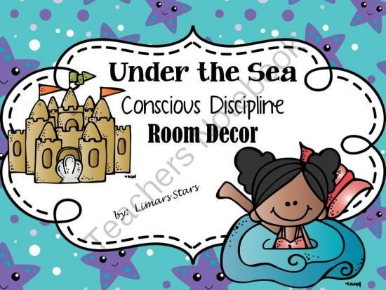 Under the Sea Conscious Discipline Decor from Limars Stars on TeachersNotebook.com -  (123 pages)  - Do you use Conscious Discipline?  The Wish Well board, Safe Place, and a lot more are all dressed up in an Under the Sea theme and can all be found in this download!