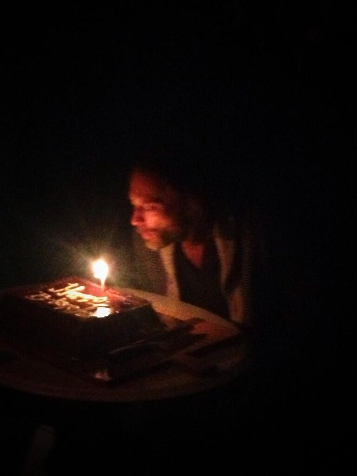 Now: Thom celebrating his 45th birthday last week (10/7/13) via Thom Yorke (thomyorke) on Twitter