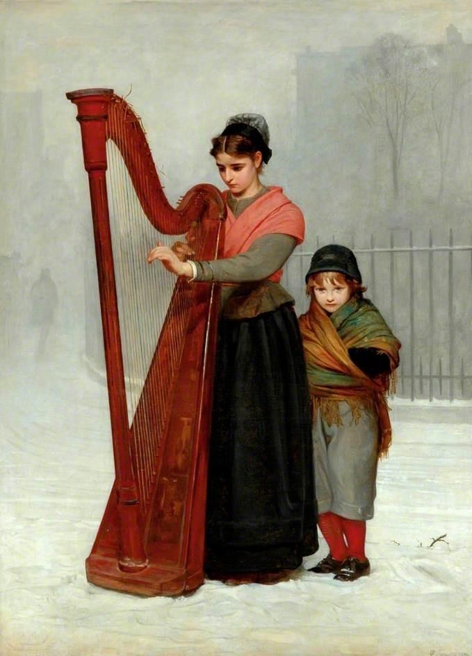 Philip Hermogenes Calderon : The Orphans 1870: