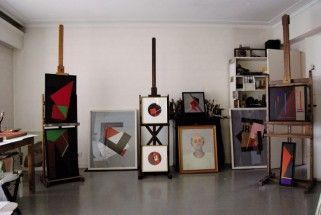Inés Bancalari's studio - Inés Bancalari, Cecilia De Torres Ltd.