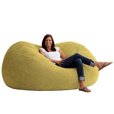 Fuf Bean Bag Chair Upholstery: Comfort Suede Sand Dune - http://delanico.com/bean-bag-chairs/fuf-bean-bag-chair-upholstery-comfort-suede-sand-dune-655362851/