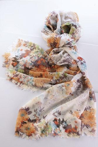 Floral Print Scarf - so cute! :) x