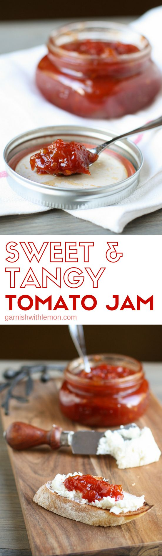 Grab all of those late season tomatoes for a batch of this Sweet & Tangy…