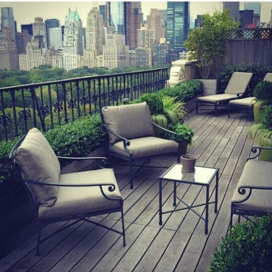 Roof Terrace - Central Park, NYC