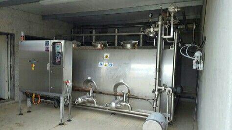 C.I.P Compacta automática 4x3.500 litros Calentamiento en impulsión