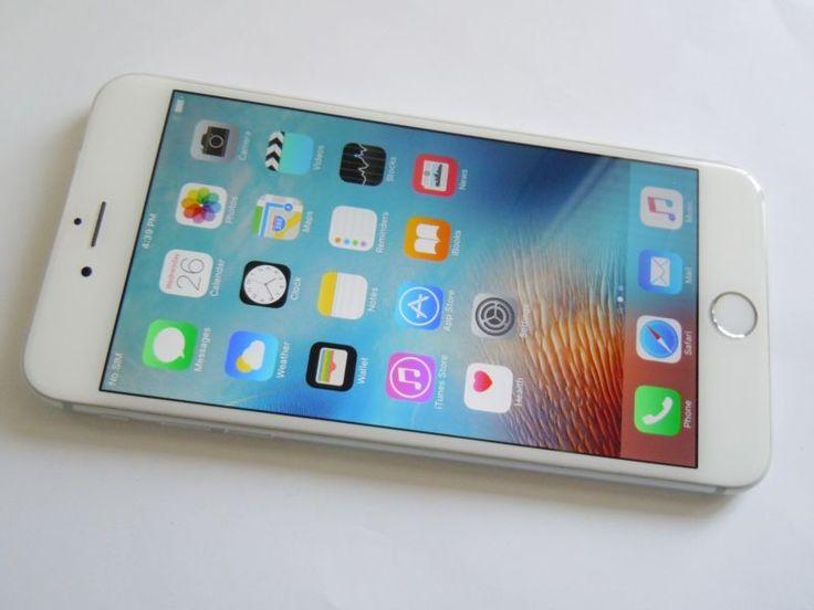 "FACTORY UNLOCKED APPLE iPHONE 6 PLUS 16GB 5.5"" SILVER WHITE - ANY GSM - CA9040-F #silver #white #plus #iphone #unlocked #apple #factory"