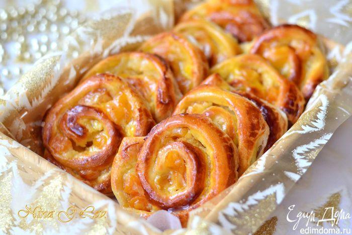 Изумительные ванильные французские булочки (Pain aux raisins) | Кулинарные рецепты от «Едим дома!»