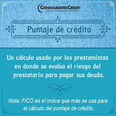 DESCRIPCIÓN:15 PUNTAJE DE CRÉDITO- Un cálculo usado por los prestamistas en donde se evalúa el riesgo del prestatario para pagar sus deuda.#finanzas #EducacionFinanciera#FinanzasLatinos