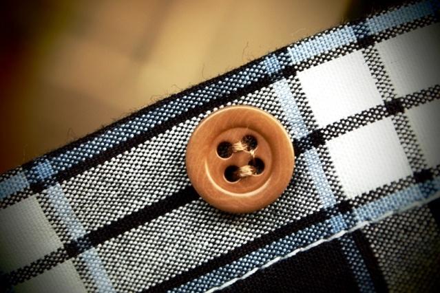 OBC Checker Indigo Dyed Yarns