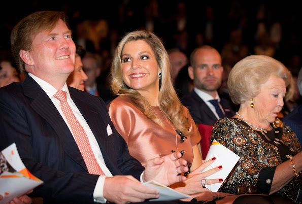 ♥•✿•QueenMaxima•✿•♥...Dutch Royal Family Attends Final Celebrations 200 Years Kingdom Of The Netherlands on September 26, 2015 in Amsterdam, Netherlands