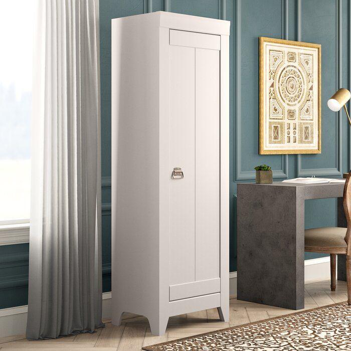 Finkelstein 1 Door Storage Cabinet With Images Accent Cabinet Accent Doors Tall Cabinet Storage