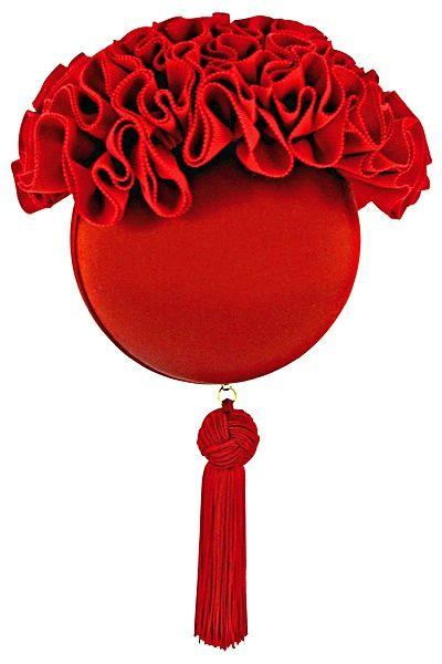 Louboutin Red Evening Bag
