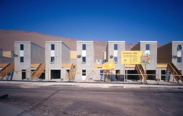 #Architektura #Chile #Radove domy #Socialní bydleni
