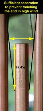 How to fix our wind chime! Awesome site - make your own