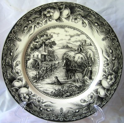 Black Toile Transferware Decorative Dishes I have these in blue. & 113 best porcelana preto images by Luzia Calado on Pinterest ...