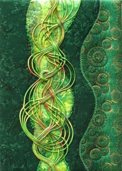 Green - MATIN LUMINEUX: Sophie Gelfi : Une artiste textile gReEn ☮k☮  #green