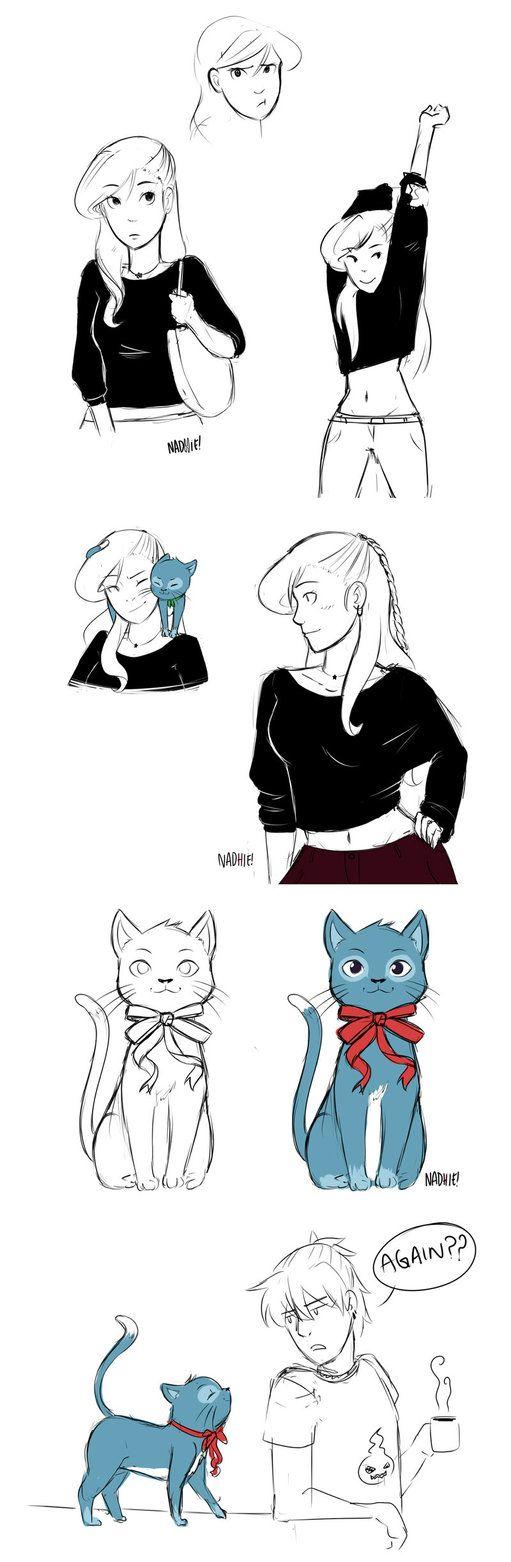 Shared cat AU by Chipiron on DeviantArt