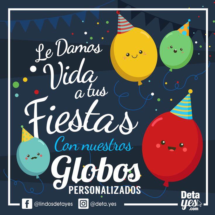 Quienes Algo Diferente?  Nuestros Globos Personalizados son una Excelente Idea para tus Fiestas,  Somos @deta_yes  , Envíos a Toda Colombia, Pedidos 31856657519