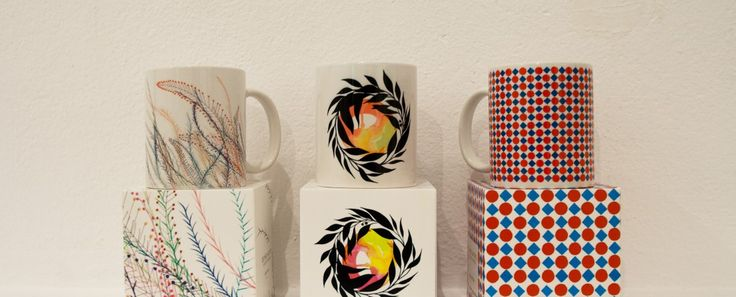 Limited edition mugs by Nuria Mora X Delimbo Gallery