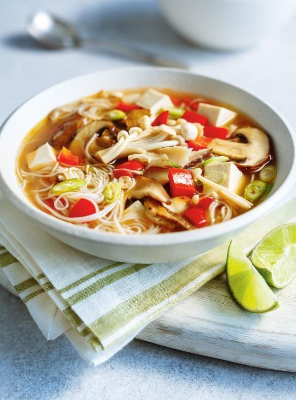 Recette de soupe-repas miso aux champignons de Ricardo
