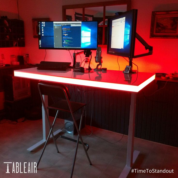 In search of something to complete that kick-ass gaming setup - led schreibtisch tableair bilder app