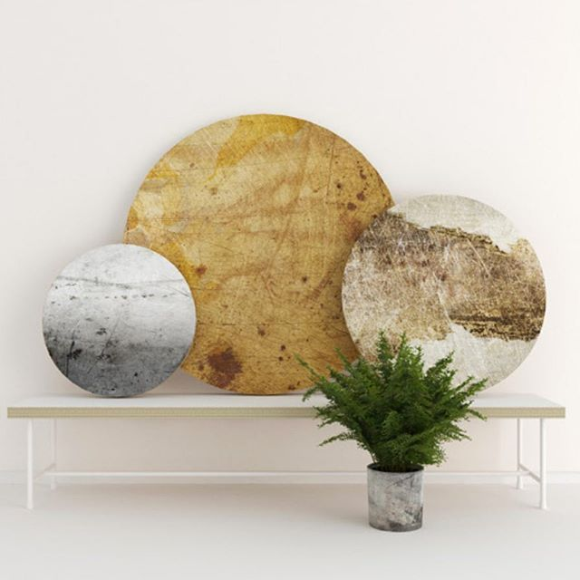 Rustic metal boards. Different shapes and sizes from Kosmonaut.
