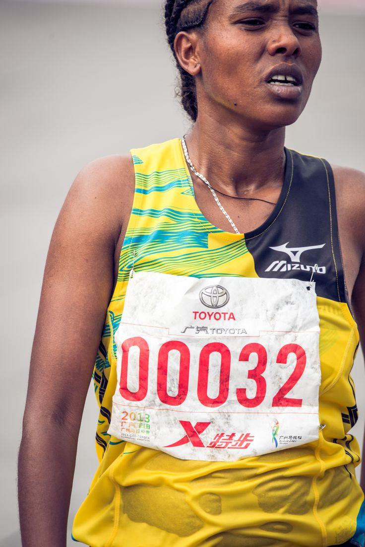 Goitetom Haftu Tesema, Ethiopia - The Women Champion of 2013 GAC-Toyota Guangzhou Marathon