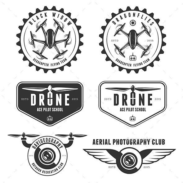 drones emblem set drones. Black Bedroom Furniture Sets. Home Design Ideas