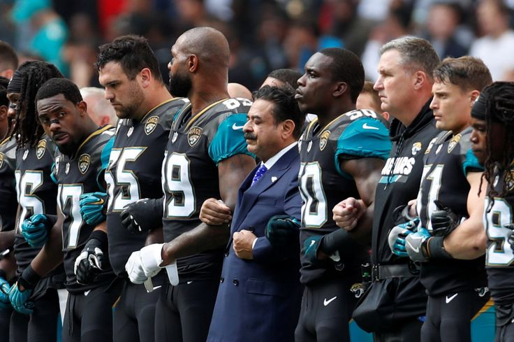 Shahid Khan, the Jaguars owner who stood with his team, has long espoused the American Dream - The Washington Post