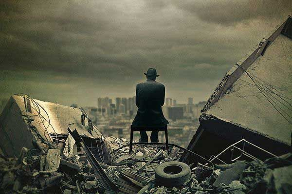 What would you do in the minutes and hours after the end of the world?